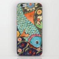 koi iPhone & iPod Skins featuring Koi by Joke Vermeer