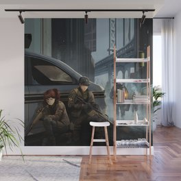 The Division Wall Mural