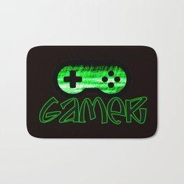 Gamer Green Bath Mat