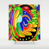 wings Shower Curtains featuring Wings by JT Digital Art