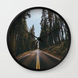 TAKING THE LONG WAY  HOME Wall Clock