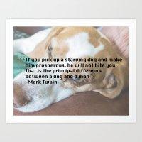Quote 2 Art Print