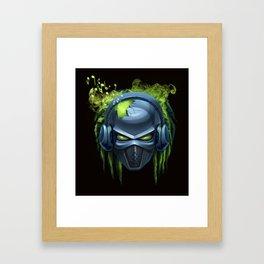 music robot Framed Art Print