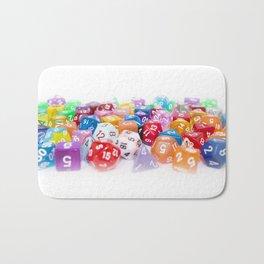 Treasure Trove of Gaming Dice Bath Mat