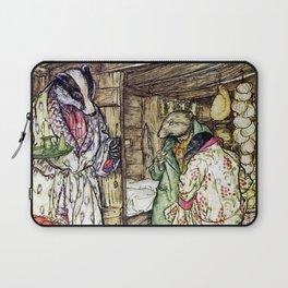 """The Badger's House"" by Arthur Rackham Laptop Sleeve"