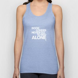 ALONE: NEVER Unisex Tank Top