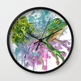 Evolution is Contagious Wall Clock