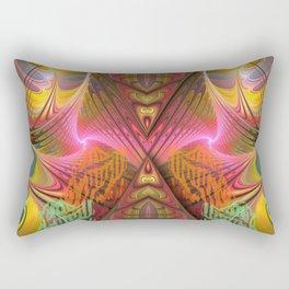 merging energy fields of universes Rectangular Pillow