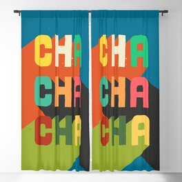 Cha cha cha Blackout Curtain