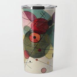 Wassily Kandinsky - Circles in a circle Travel Mug