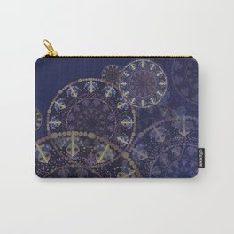 Mandala in blue Carry-All Pouch