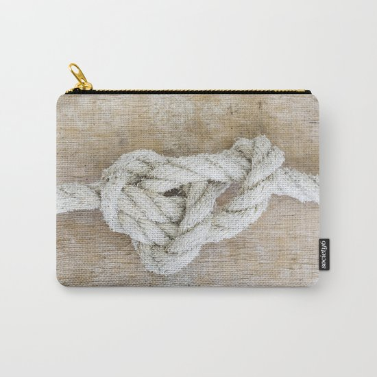 Knot on driftwood Carry-All Pouch