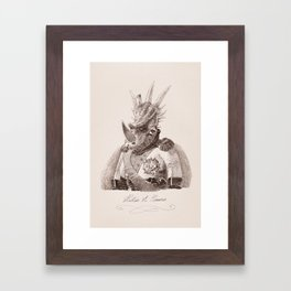 Alastair A. Cosaurus Framed Art Print