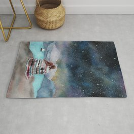 Love under the stars Rug
