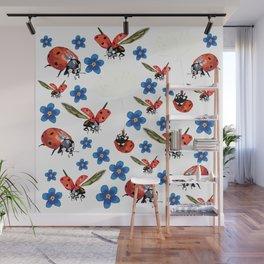 Spring Sing Wall Mural