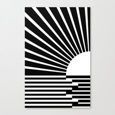 White rays Canvas Print