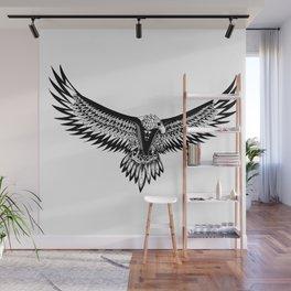 Wild eagle ecopop Wall Mural
