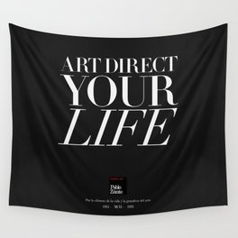 Art direct your life (Piece 05/08) Wall Tapestry