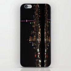 city at night iPhone & iPod Skin