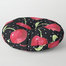 Cherry pattern III Floor Pillow