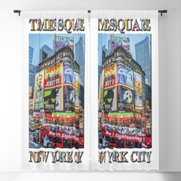 Times Square II Special Edition II Blackout Curtain