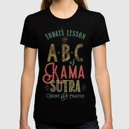 Kama Sutra Lessons T-shirt