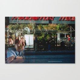 Greener Busses - overlapper Canvas Print