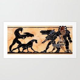 We Stand Together Art Print