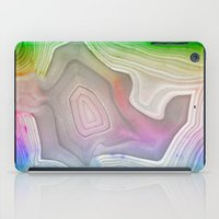 minerals iPad Cases featuring MINERAL RAINBOW by Catspaws