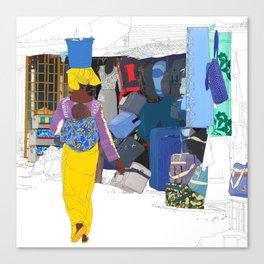 Kedougou Market Canvas Print