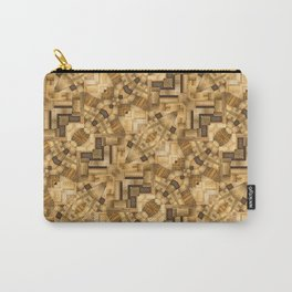 parquet Carry-All Pouch