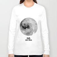 gta v Long Sleeve T-shirts featuring GTA Bike Glitch by JOlorful