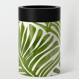 Summer Fern / Simple Modern Watercolor Can Cooler