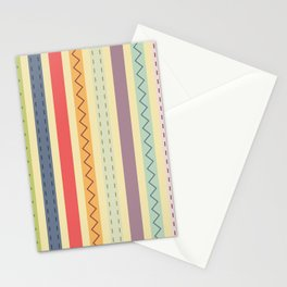Abstract Shapes Stationery Cards