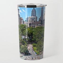 Union Square, NYC Travel Mug