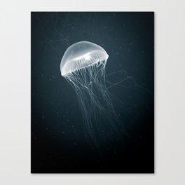 Jellyfish Glow Canvas Print