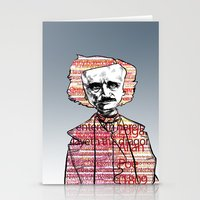 poe Stationery Cards featuring Poe by dvhstudios