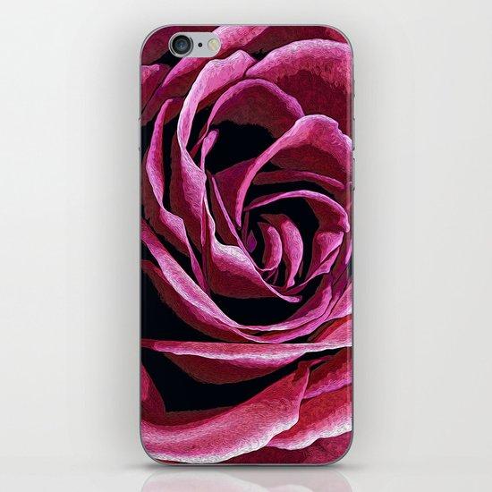Rose Sketch iPhone & iPod Skin