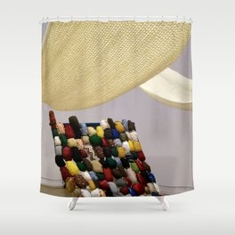Tell Me Your Story (detail) Shower Curtain