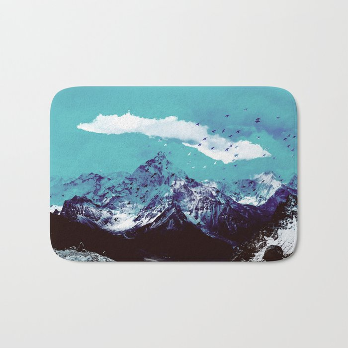 Mountain Range Bath Mat