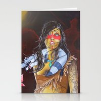 pocahontas Stationery Cards featuring pocahontas by marmaseo