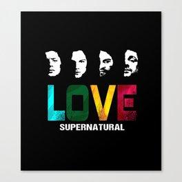 Supernatural Love Canvas Print