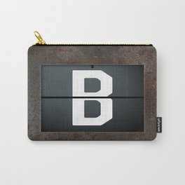 monogram schedule b Carry-All Pouch