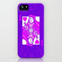 Queen of Crochet iPhone Case