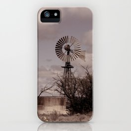 Karoo Windmill iPhone Case