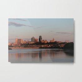 Downtown Kansas City at Sunset Metal Print