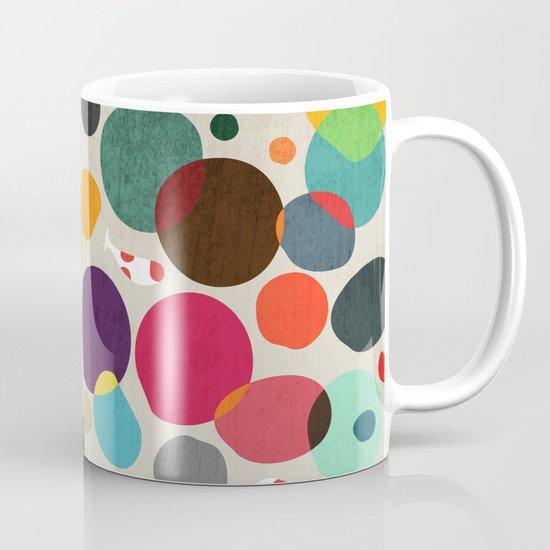 Lotus in koi pond Coffee Mug