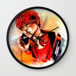 Seven Mystic Messenger Watercolor Wall Clock