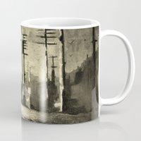 oana befort Mugs featuring Feminism by Oana Popan