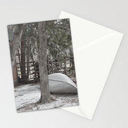Cold Winters Day Stationery Cards